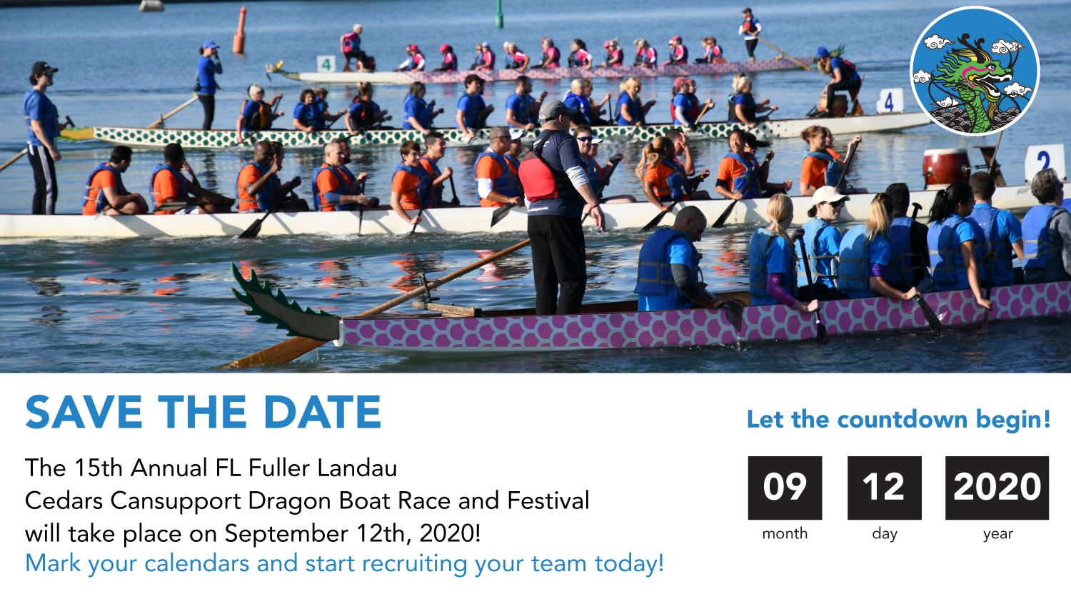Save date Dragon Boat 2020